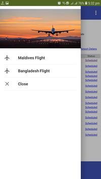 Airport Flight Schedule poster