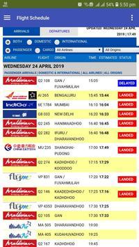 Airport Flight Schedule screenshot 1