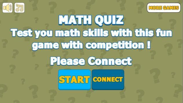 Math Quiz poster