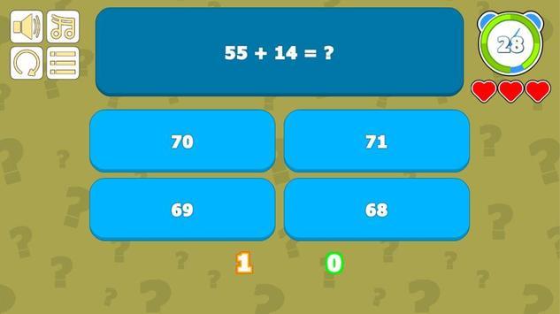 Math Quiz screenshot 1