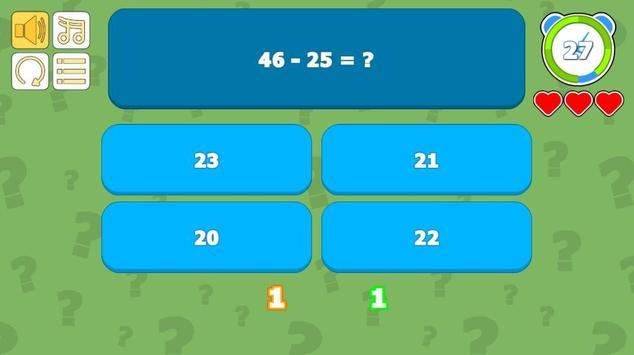 Math Quiz screenshot 2
