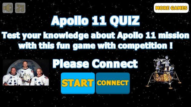 Apollo 11 Quiz poster