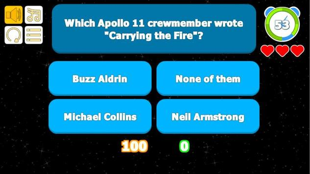 Apollo 11 Quiz screenshot 1
