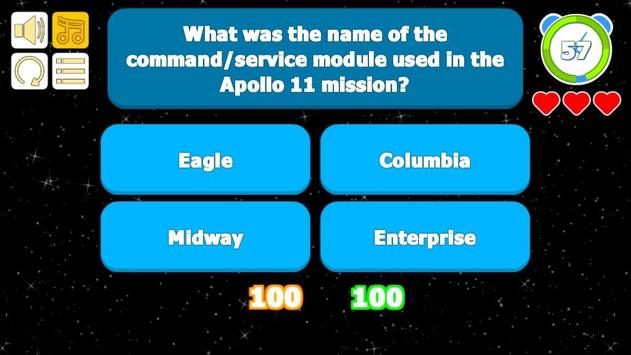 Apollo 11 Quiz screenshot 2