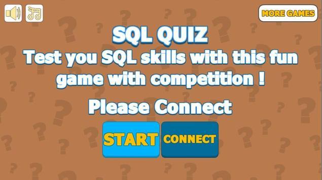 SQL Quiz poster