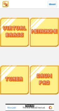 Brass Buddy - Tuner, Metronome, Virtual Trumpet screenshot 3