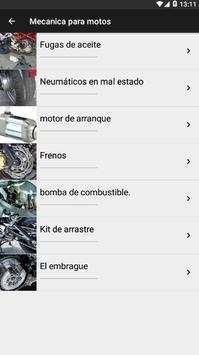 Mecanica Para Motos 2019 screenshot 1