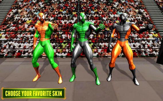 5 Schermata Superhero VS Spider Hero combattere la vendetta