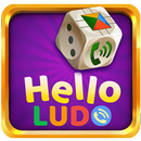 हैलो लूडो - लूडो खेल पर लाइव ऑनलाइन चैट! APK