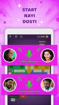 Hello Ludo™- Live online Chat on star ludo game ! poster