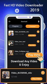 Fast HD Video Downloader 2019 screenshot 3