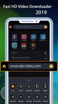 Fast HD Video Downloader 2019 poster