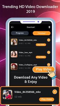 Trending HD Video Downloader 2019 screenshot 3