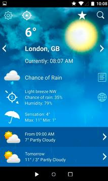 Accurate Weather - Live Weather Forecast screenshot 5