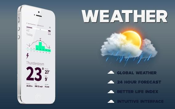 Accurate Weather - Live Weather Forecast screenshot 7