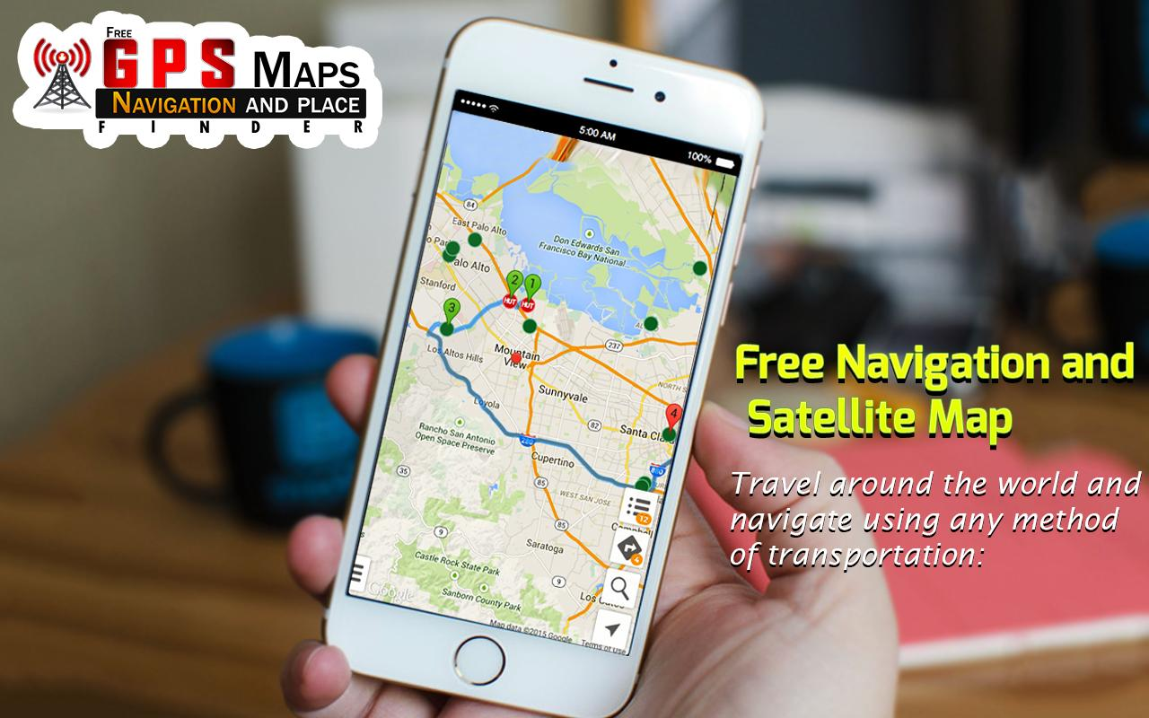 Free Gps Maps Navigation And Place Finder For Android Apk