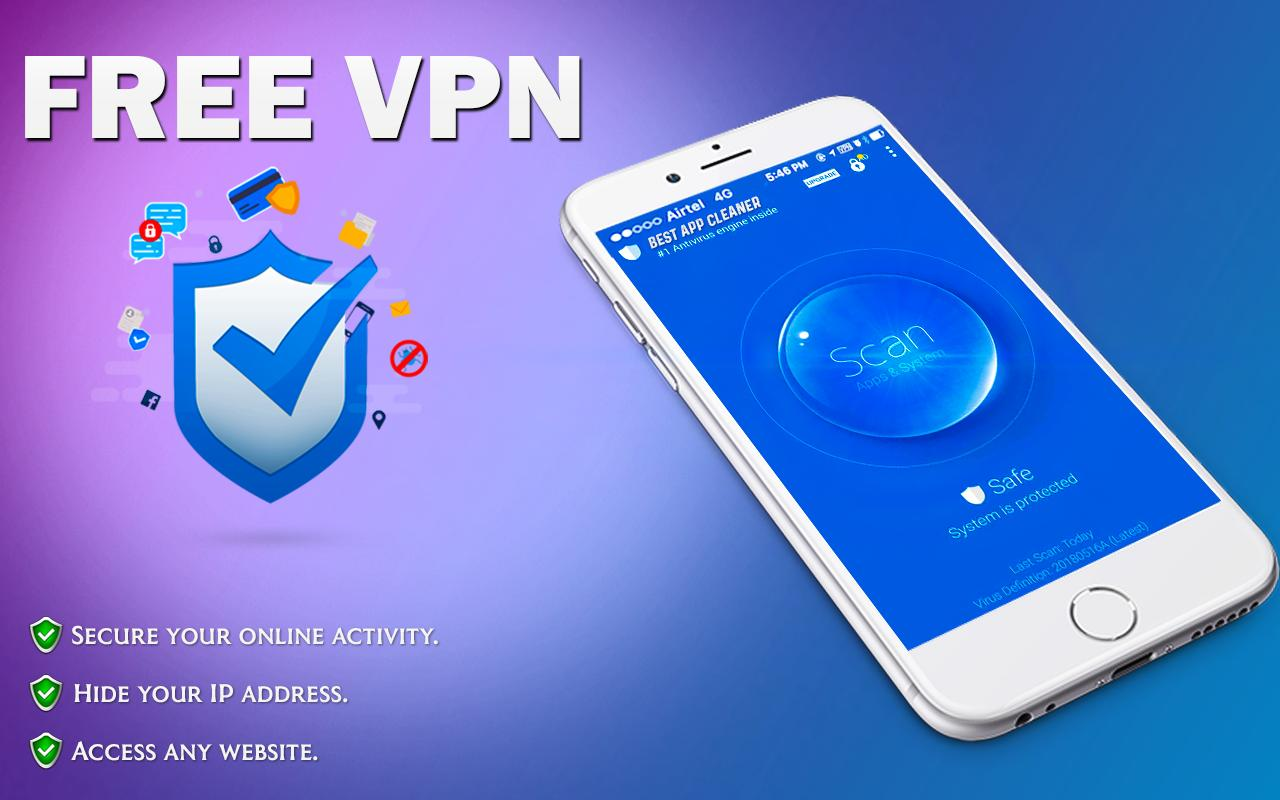 Free VPN Proxy: Secure Shield & Fast Hotspot for Android - APK Download
