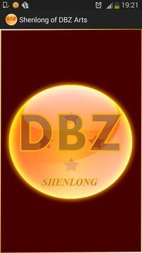 Shenlong of DBZ Arts poster