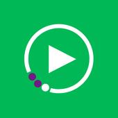 МегаФон ТВ: фильмы, ТВ, сериалы アイコン