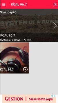 Kcal 96.7 Kcal Rocks Radio Station Online screenshot 3