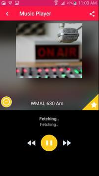 WMAL Radio App Radio Station Live Free App poster