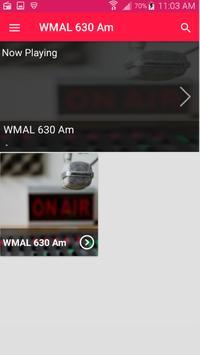 WMAL Radio App Radio Station Live Free App screenshot 3