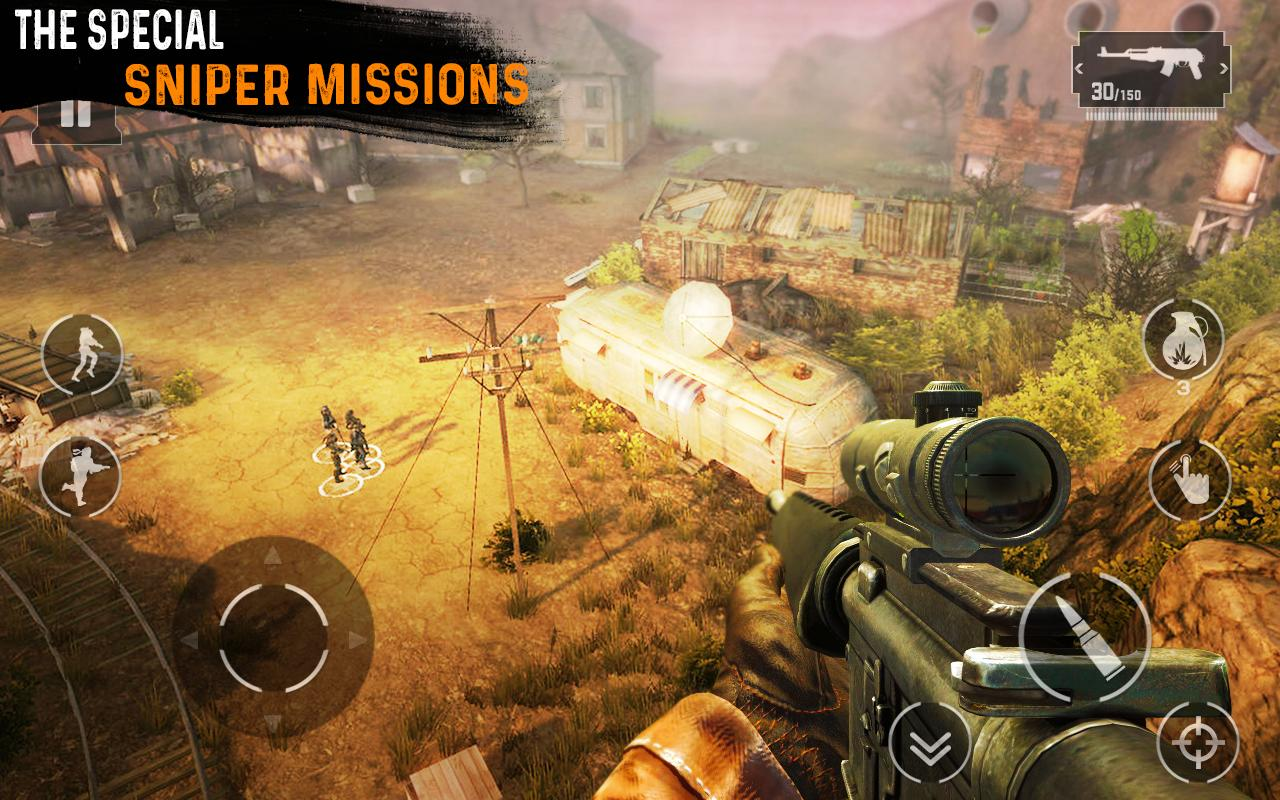 Sniper 3D Shooting: Black OPS - Free FPS Game for Android