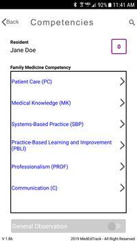 MedEdTrack Faculty App screenshot 1