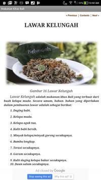 Aneka Makanan Khas Bali screenshot 4