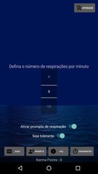 meditação biofeedback: respiração diafragmática imagem de tela 2