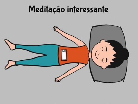 meditação biofeedback: respiração diafragmática imagem de tela 1