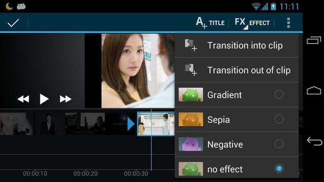 4 Schermata Video Maker Movie Editor