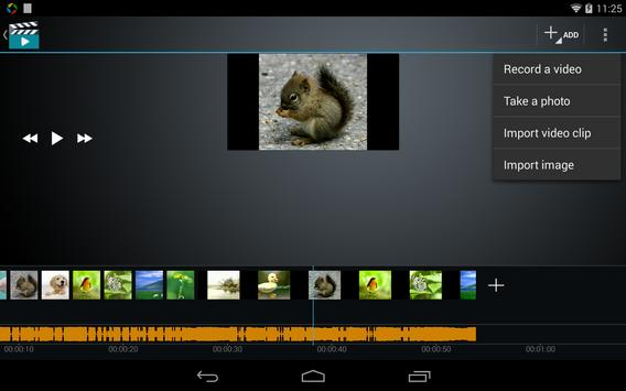 Video Maker Movie Editor screenshot 6