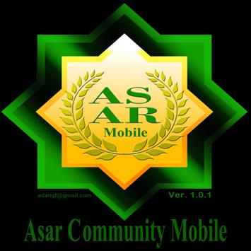 ASAR COMMUNITY poster