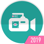 background video recorder icon