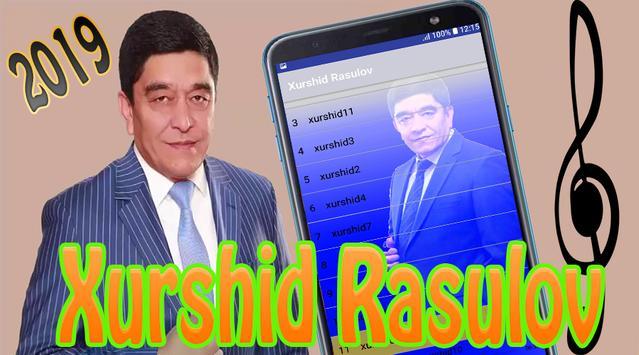 Xurshid Rasulov poster