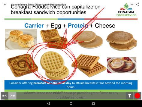 Conagra Foodservice SalesXchange screenshot 6