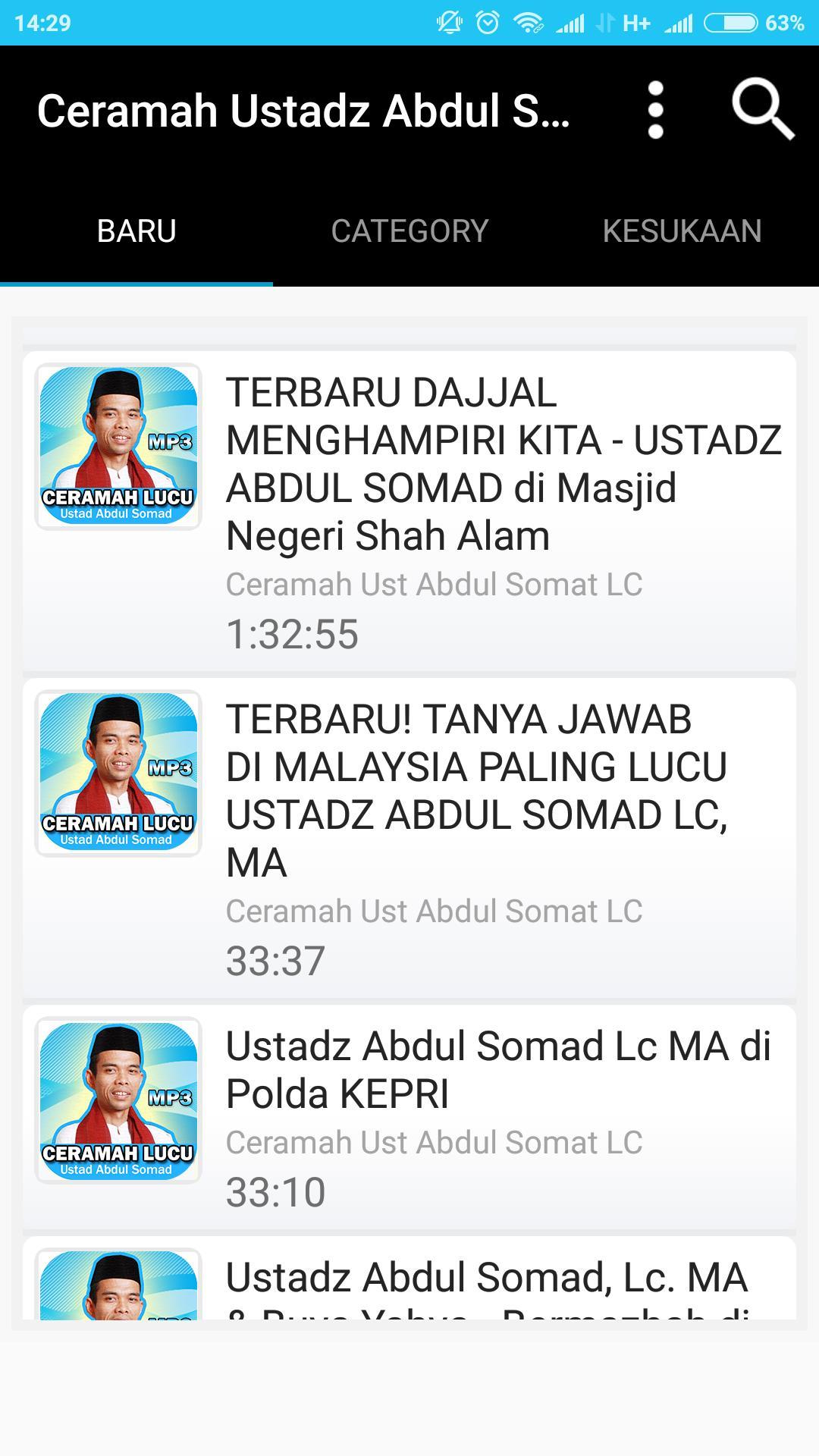 Ceramah Lucu UAS For Android APK Download