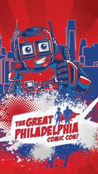 Great Philadelphia Comic Con poster