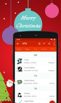 Christmas Gift List Full screenshot 1