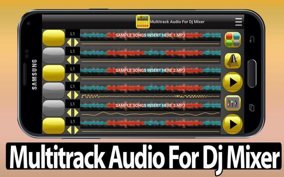 Multitrack Audio For Dj Mixer poster