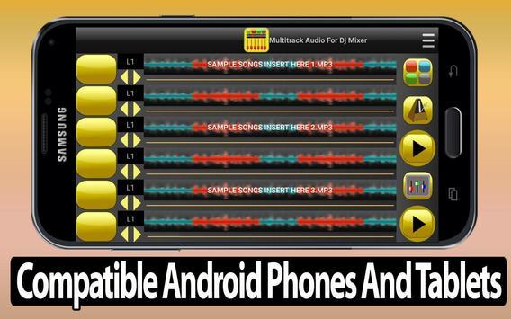 Multitrack Audio For Dj Mixer screenshot 5