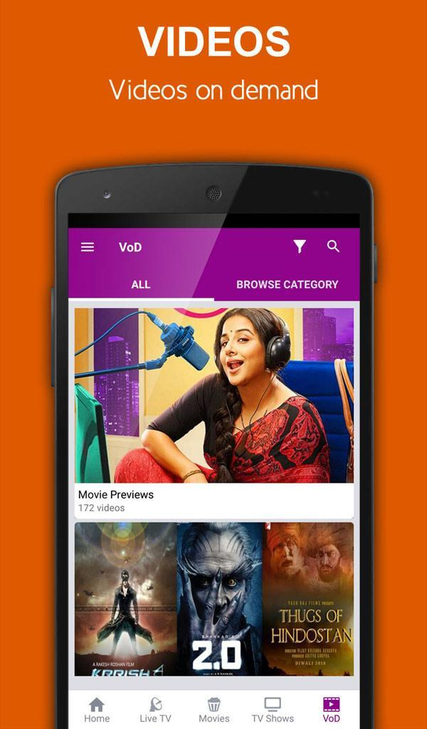 nexGTv HD for Android - APK Download