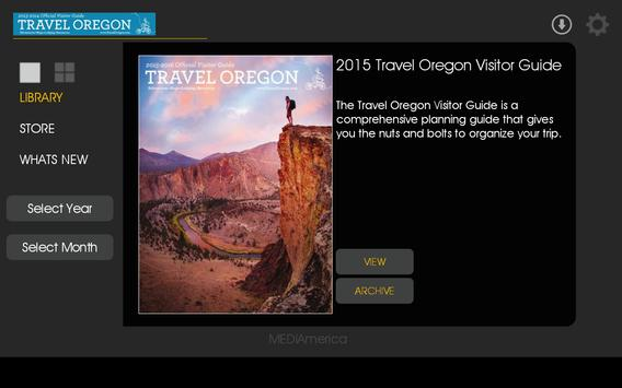 TRAVEL OREGON VISITOR GUIDE screenshot 9