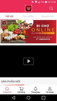 Đi Chợ Online poster