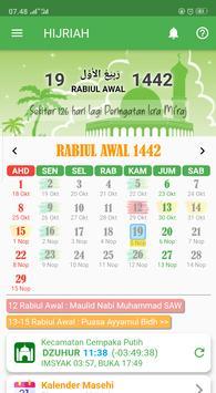 Android 用の Kalender Hijriah Masehi Jadwal Puasa Sunnah Apk をダウンロード