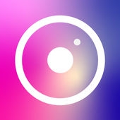 Pictogram: photo editor and stickers gallery icon