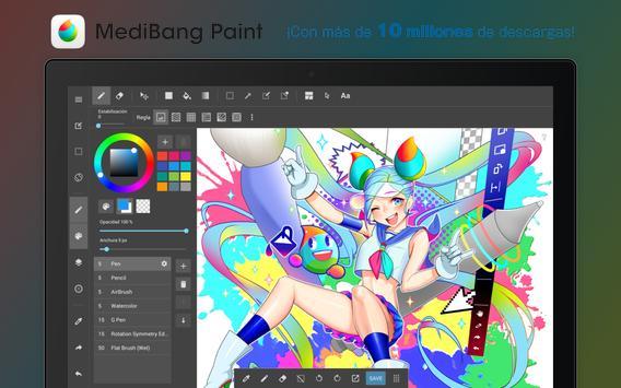 MediBang Paint captura de pantalla 6