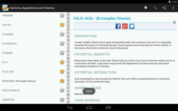 Vitamins, Minerals, Nutrients for immunity (Free) screenshot 17