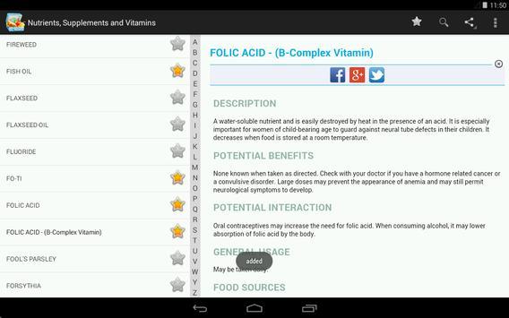 Vitamins, Minerals, Nutrients for immunity (Free) screenshot 11